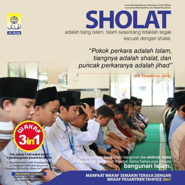 SHALAT al-Huda Peduli