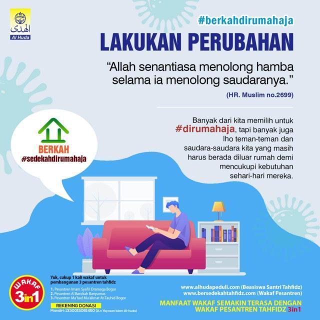 LAKUKAN PERUBAHAN-Al Huda Bogor
