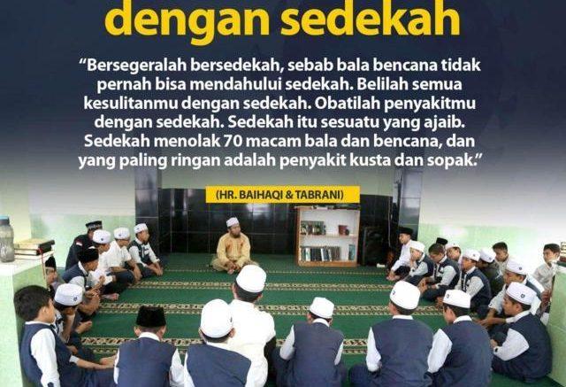 LAWAN MUSIBAH DAN KESULITAN DENGAN SEDEKAH-Al Huda Bogor